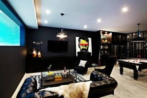 Chris Judd's man cave